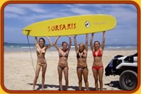Surfing Adventures-Australia Learn to Surf Safaris Sydney to Byron Bay